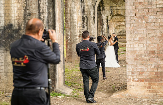 Sydney Wedding Photographers - Golden Touch Productions